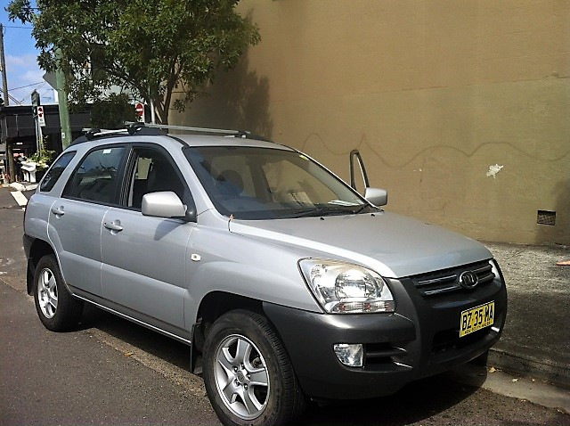 Picture of James' 2008 Kia Sportage