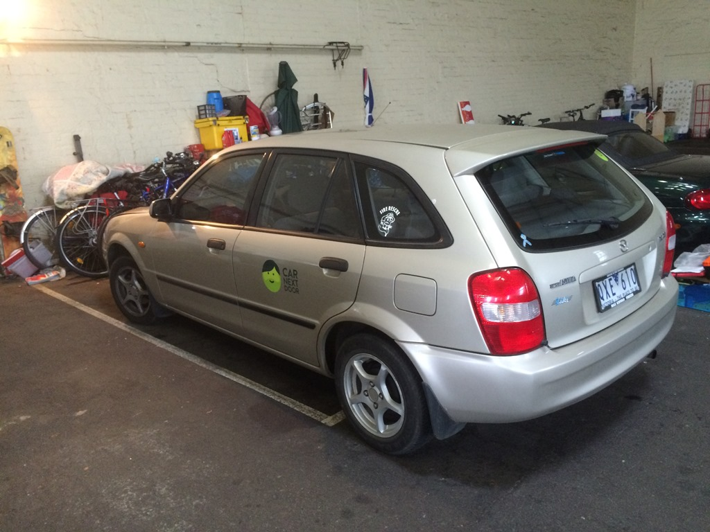 Picture of Duncan's 2001 Mazda 323