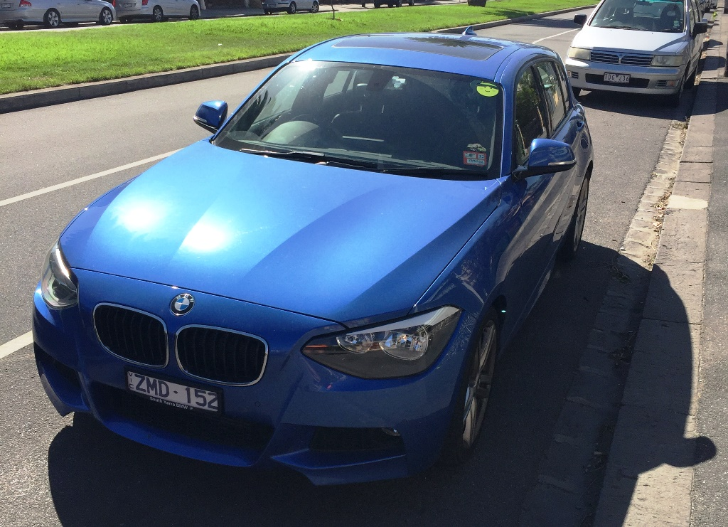 Picture of Grace's 2012 BMW 118i