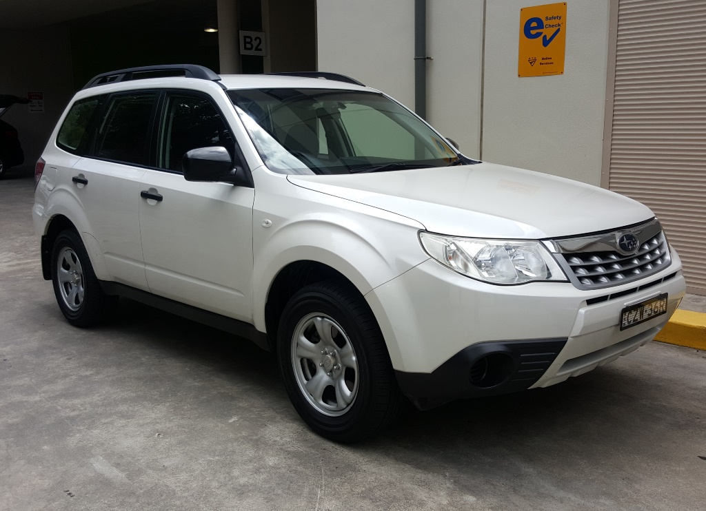 Picture of William's 2011 Subaru Forester
