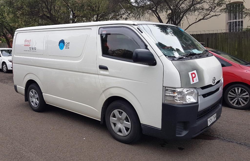 Picture of Joseph's 2016 Toyota Hiace Van