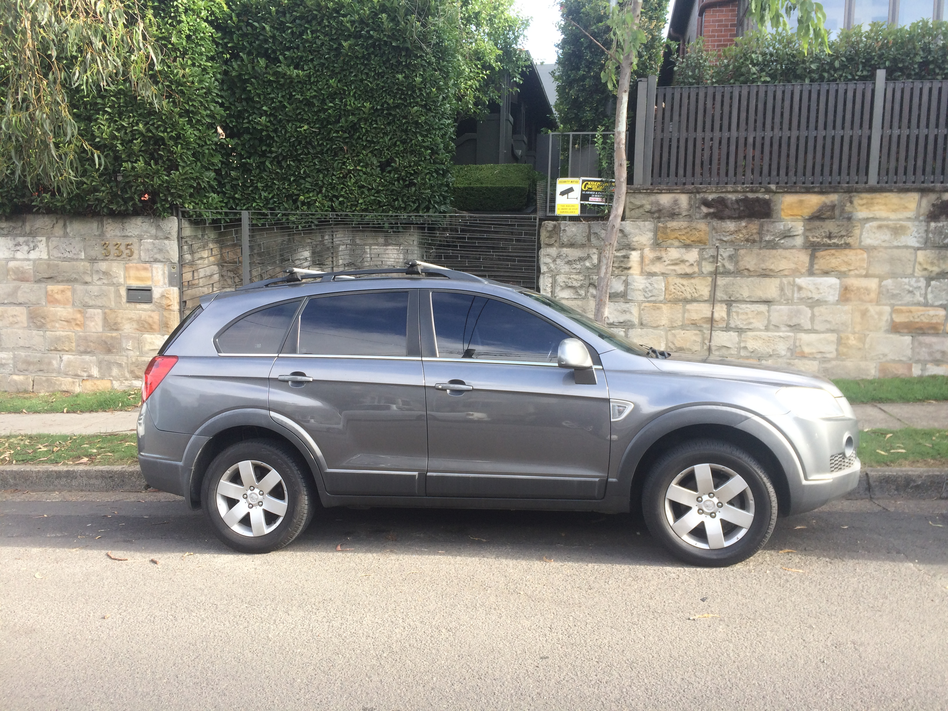 Rent John S 2008 Holden Captiva Cx 4x4 By The Hour Or