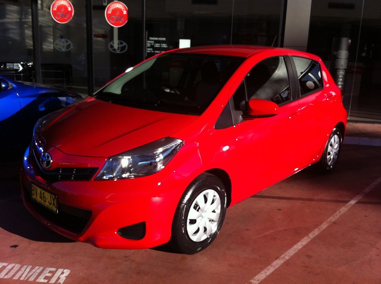 Picture of Winston's 2013 Toyota Yaris