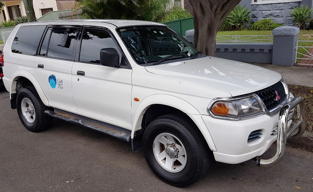 Picture of Andreas' 2002 Mitsubishi Challenger