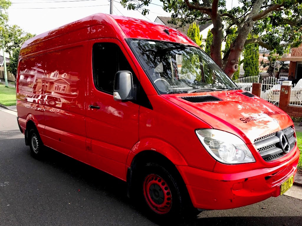 Picture of Luca's 2008 Mercedes Sprinter
