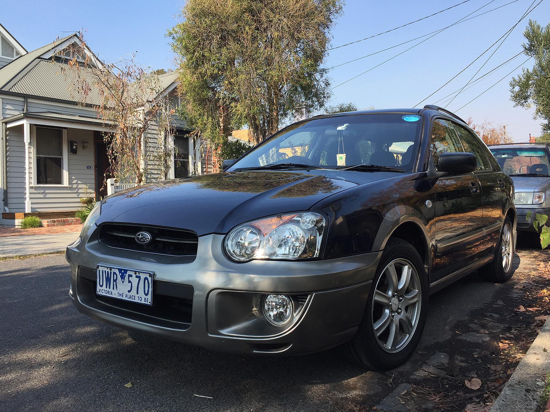 Picture of Paul's 2004 Subaru Impreza RV