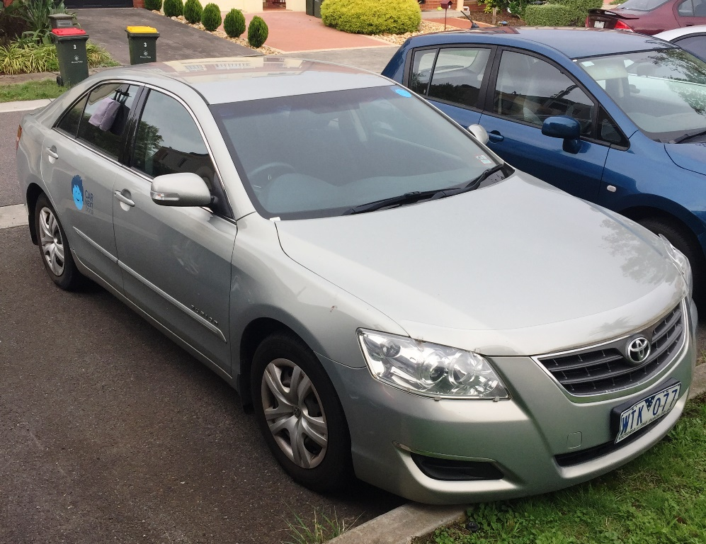 Picture of Luke's 2008 Toyota Aurion