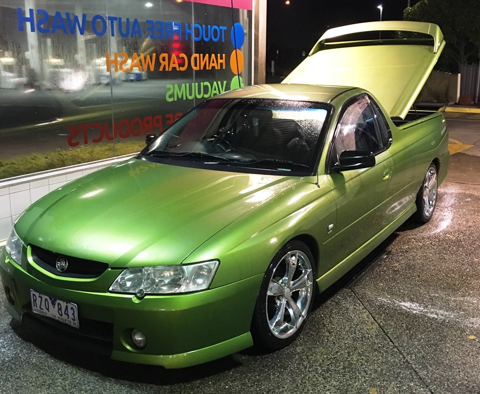Picture of Matthew's 2002 Holden Commodore Ute