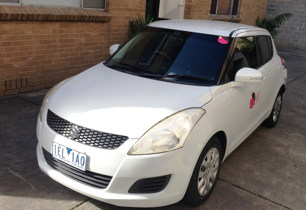Picture of Cynthia's 2011 Suzuki Swift