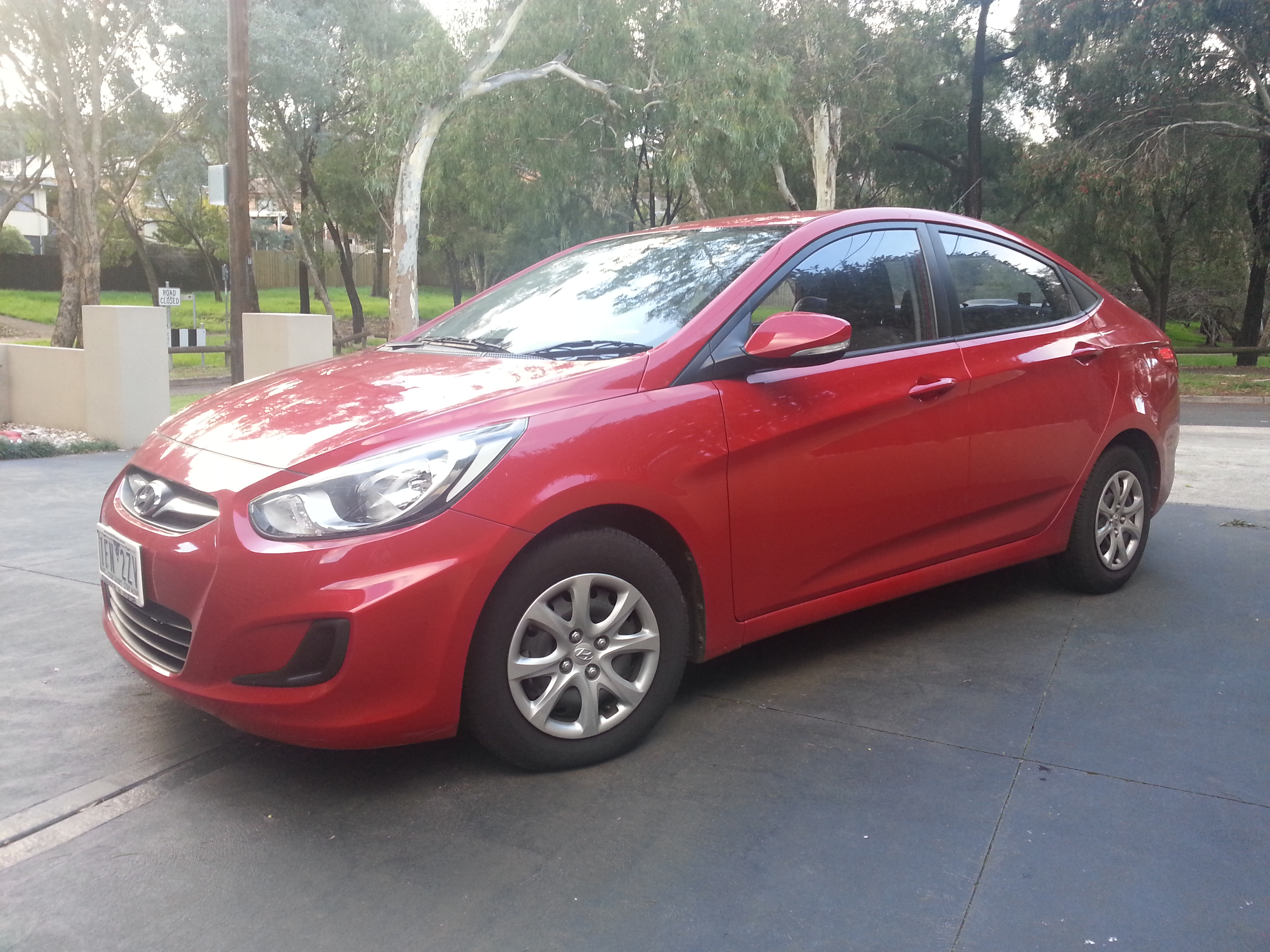 Picture of Iain's 2013 Hyundai Accent