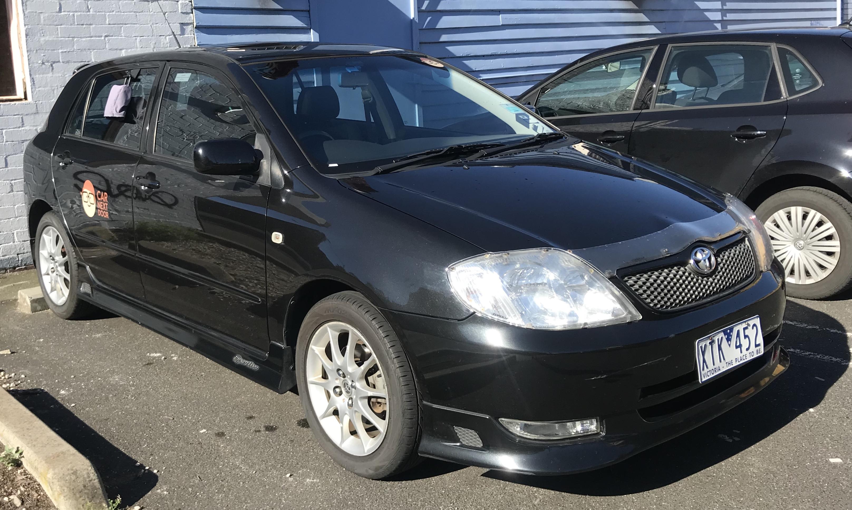 Picture of Joshua's 2003 Toyota Corolla Sportivo