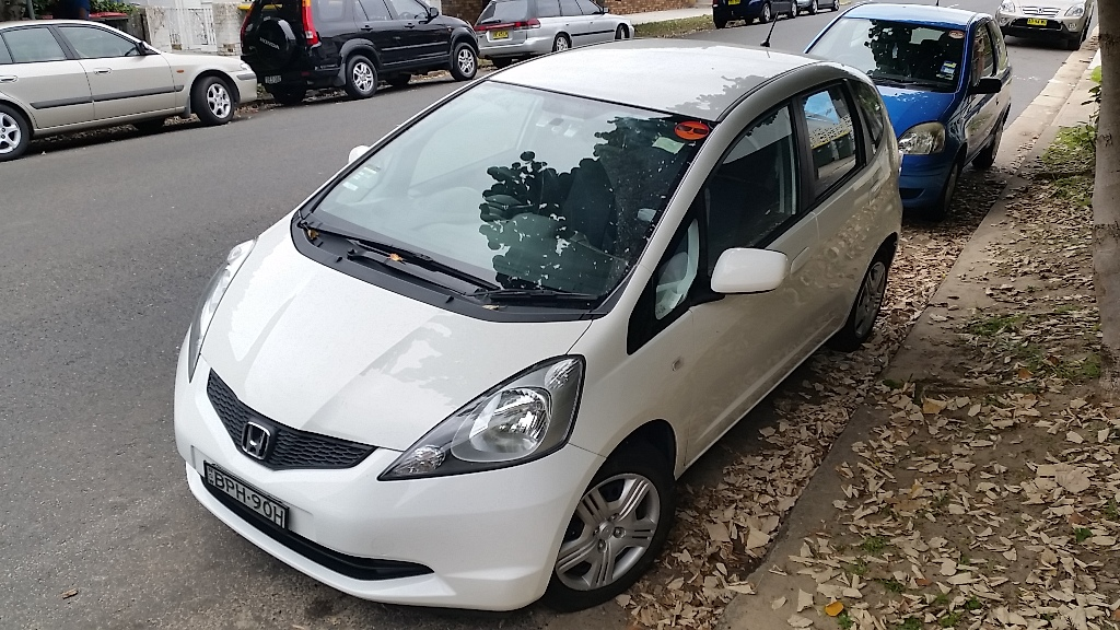 Picture of Kate's 2010 Honda Jazz