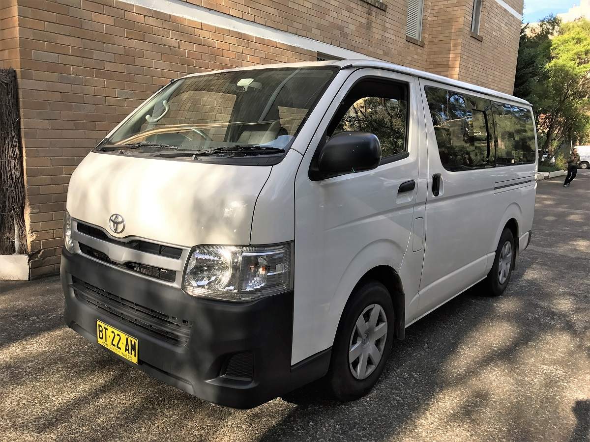 Picture of Sunny's 2012 Toyota Hiace