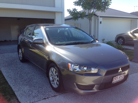 Picture of George's 2011 Mitsubishi Lancer
