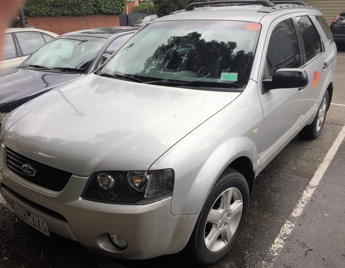 Picture of Gary's 2004 Ford Territory  7 Seater