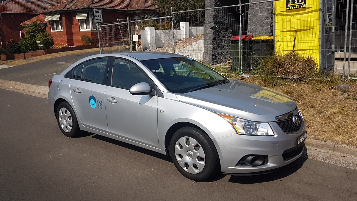 Picture of Stan's 2011 Holden Cruze