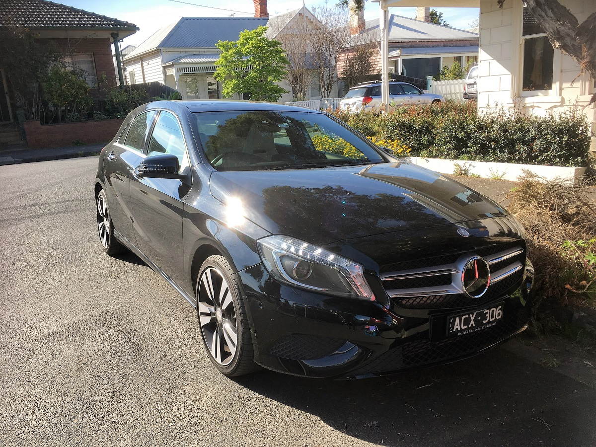 Picture of Amber's 2014 Mercedes A200