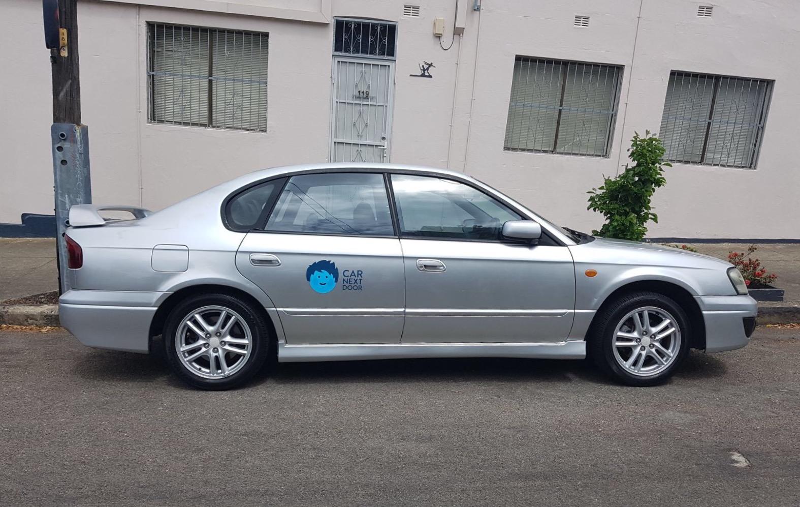 Picture of Chris' 2003 Subaru Liberty RX