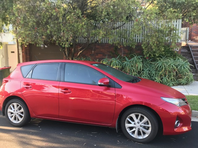 Picture of Jarrah's 2014 Toyota Corolla