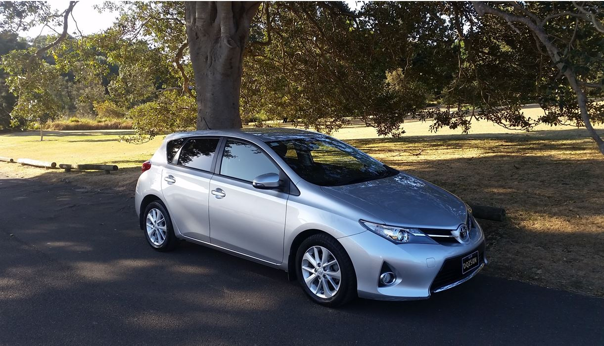 Picture of David's 2013 Toyota Corolla