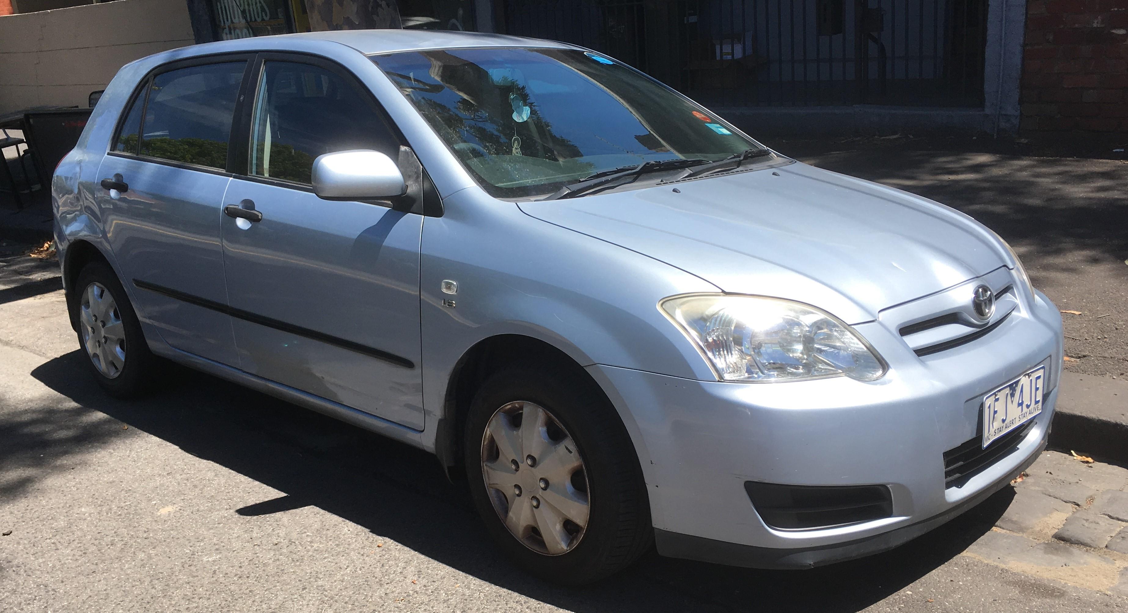Picture of Joshua's 2006 Toyota Corolla