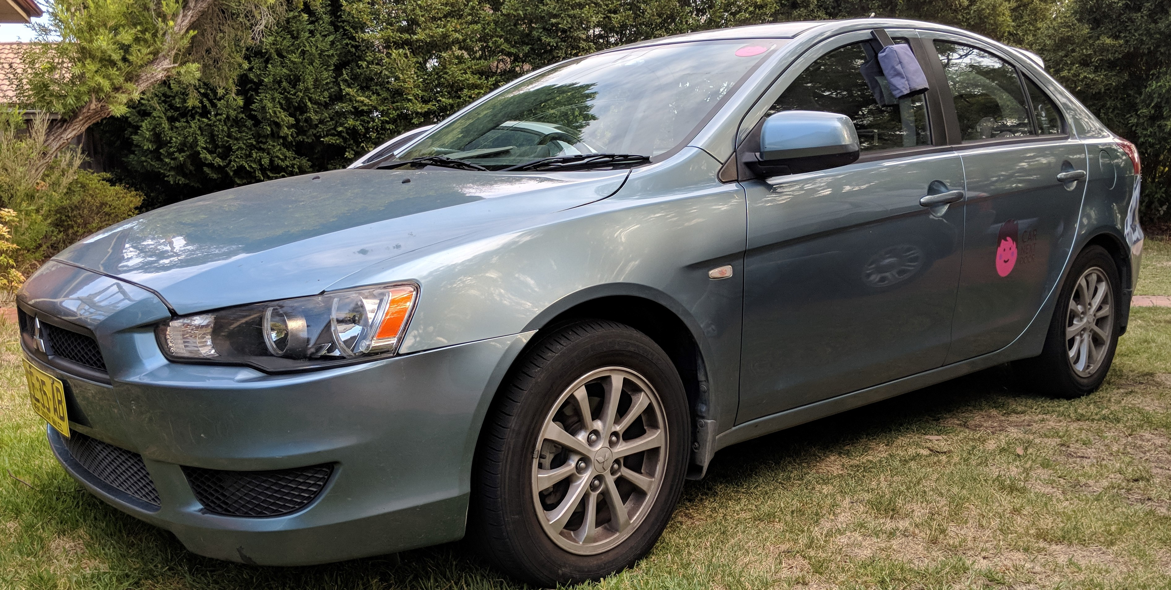 Picture of Gerardus' 2010 Mitsubishi Lancer