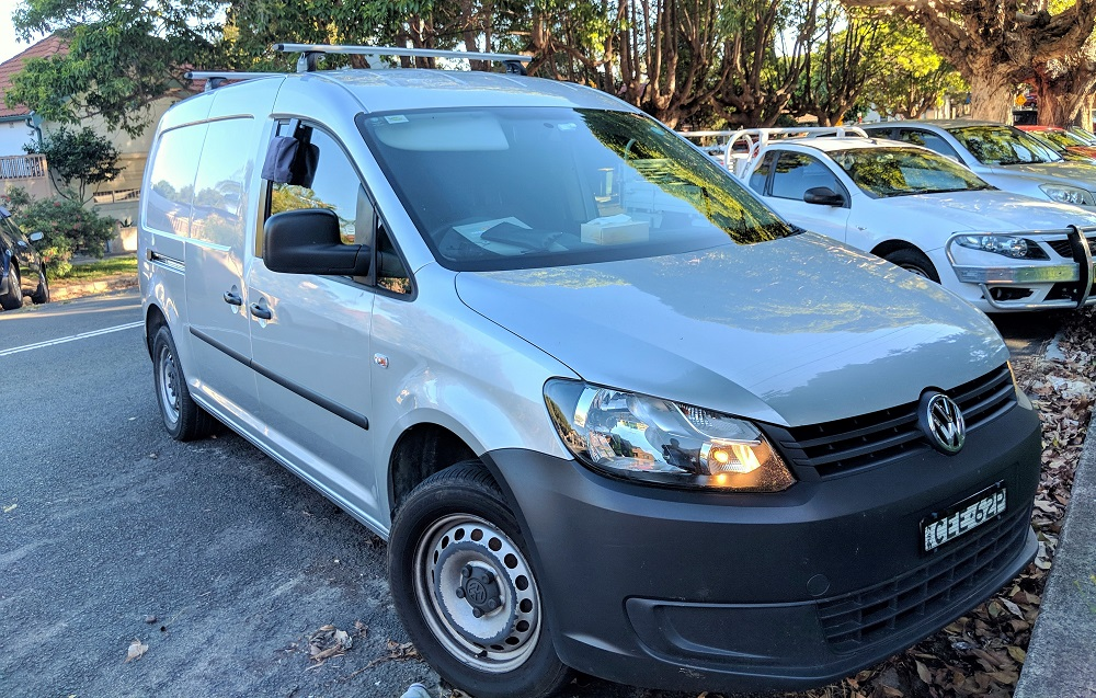 Picture of Tonia's 2011 Volkswagen caddy maxi TDI 250