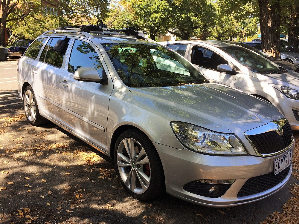 Picture of John's 2011 Skoda Wagon