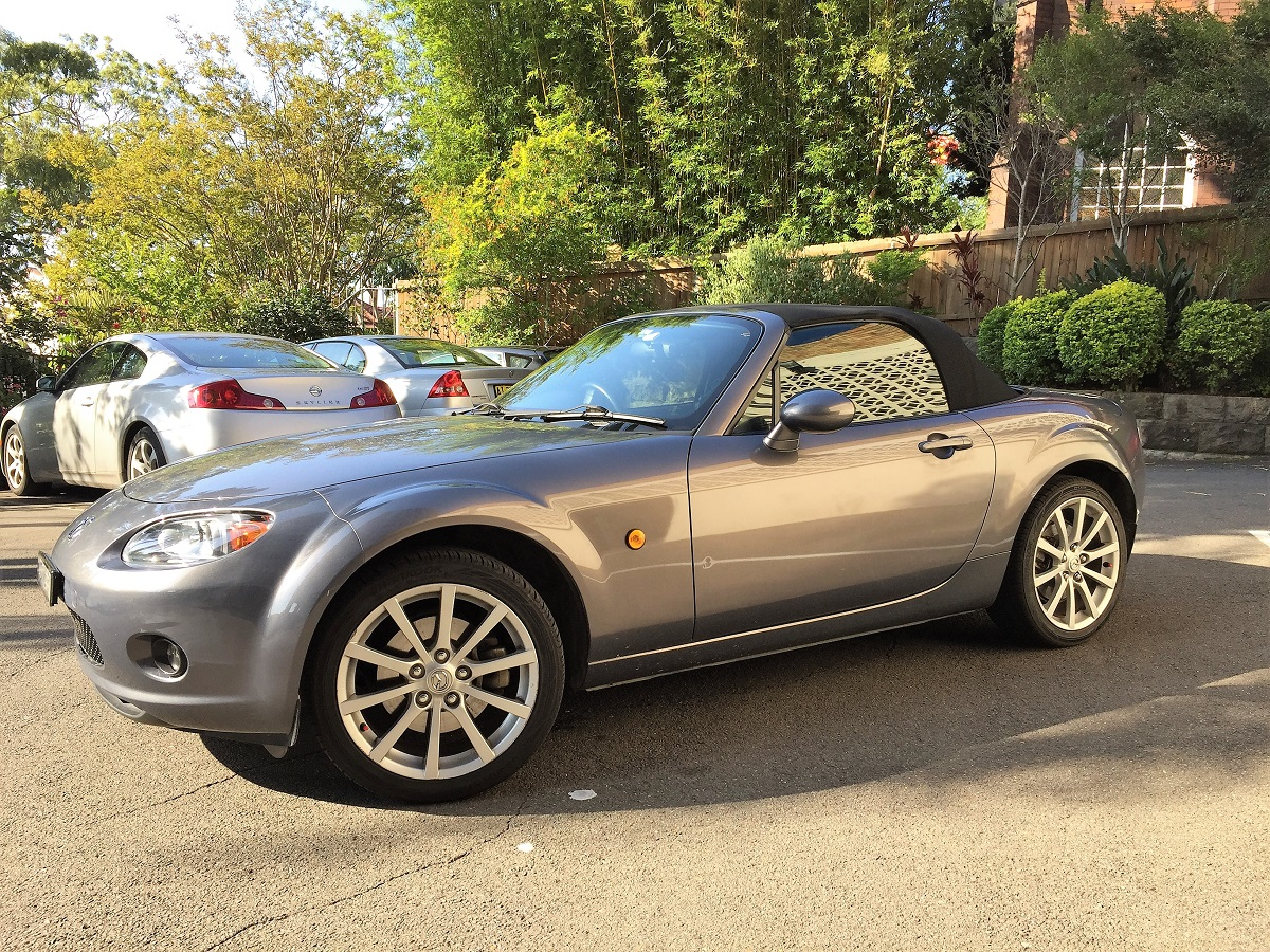 rent steve s 2008 mazda mx 5 nc by the hour or day in. Black Bedroom Furniture Sets. Home Design Ideas