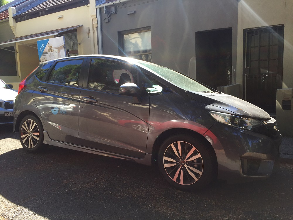 Rent Ryans 2016 Honda Jazz By The Hour Or Day In Camperdown Nsw