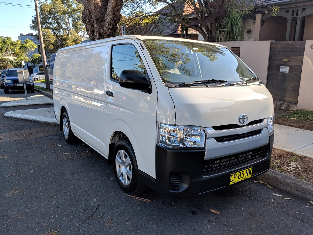 Picture of Jonas' 2018 Toyota Hiace