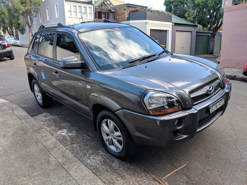 Picture of Karlos' 2009 Hyundai Tucson