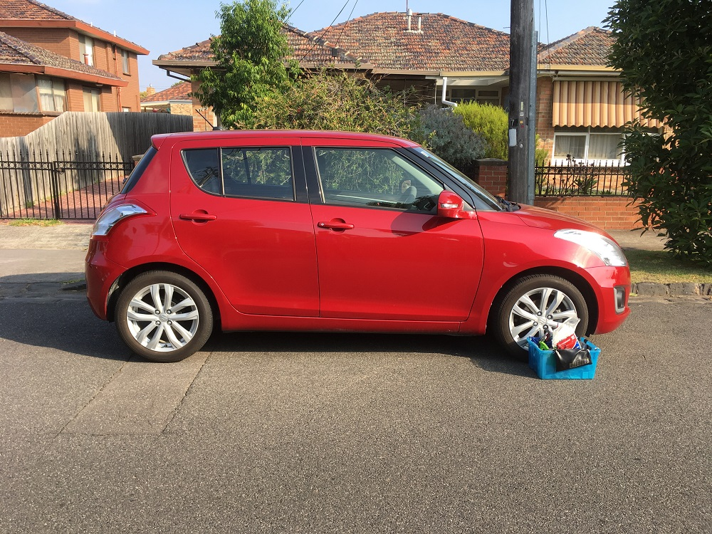 Picture of Kate's 2016 Suzuki Swift