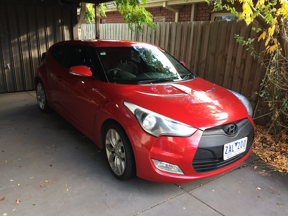 Picture of Chris' 2012 Hyundai Veloster