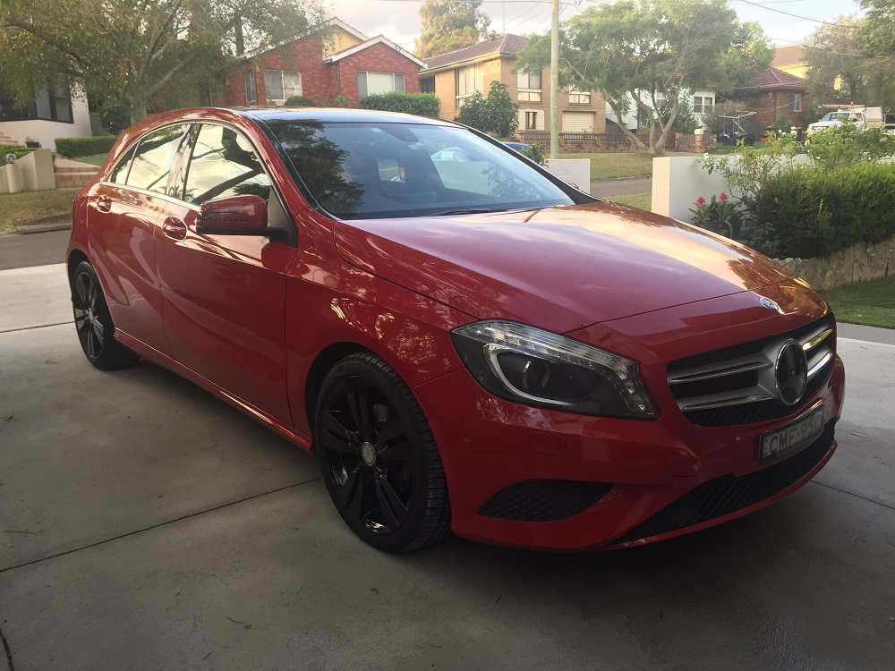 Picture of Lucia's 2013 Mercedes A200