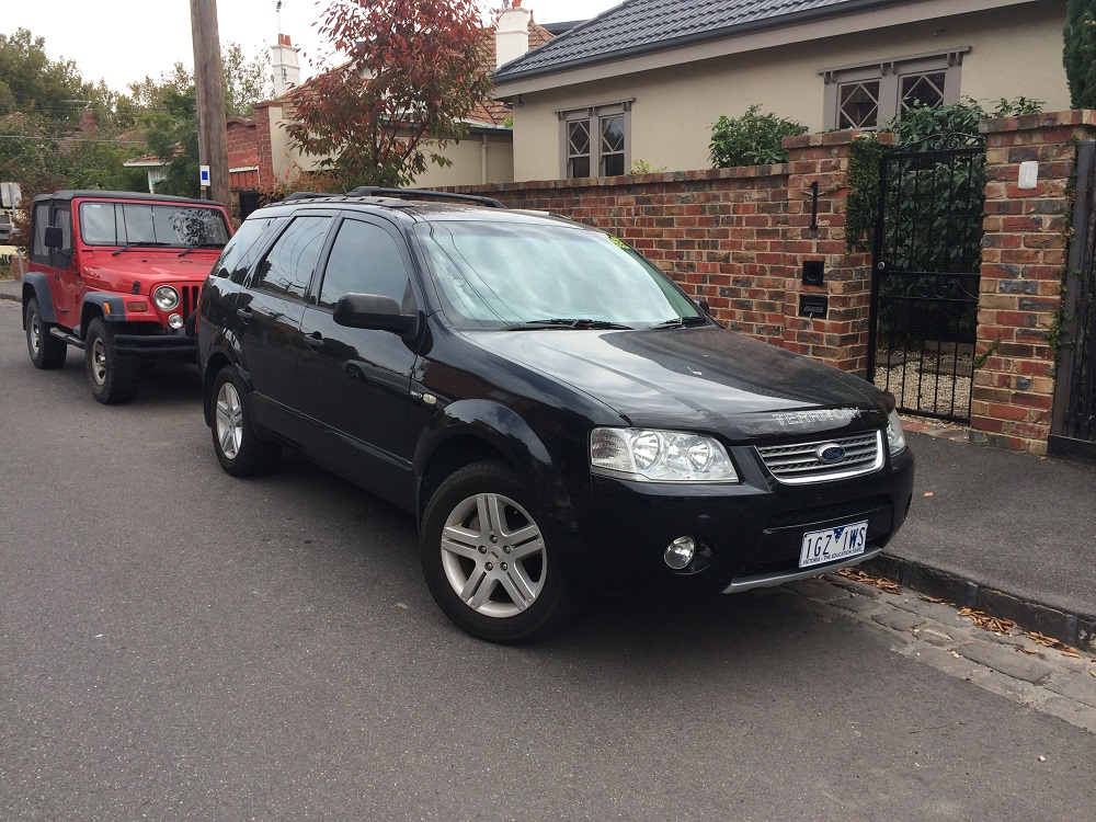 Picture of Haydn's 2008 Ford Territory