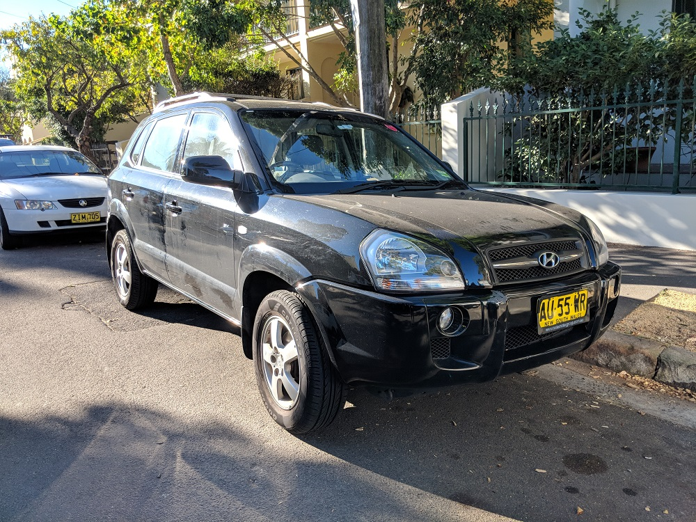 Picture of Otto's 2008 Hyundai Tucson