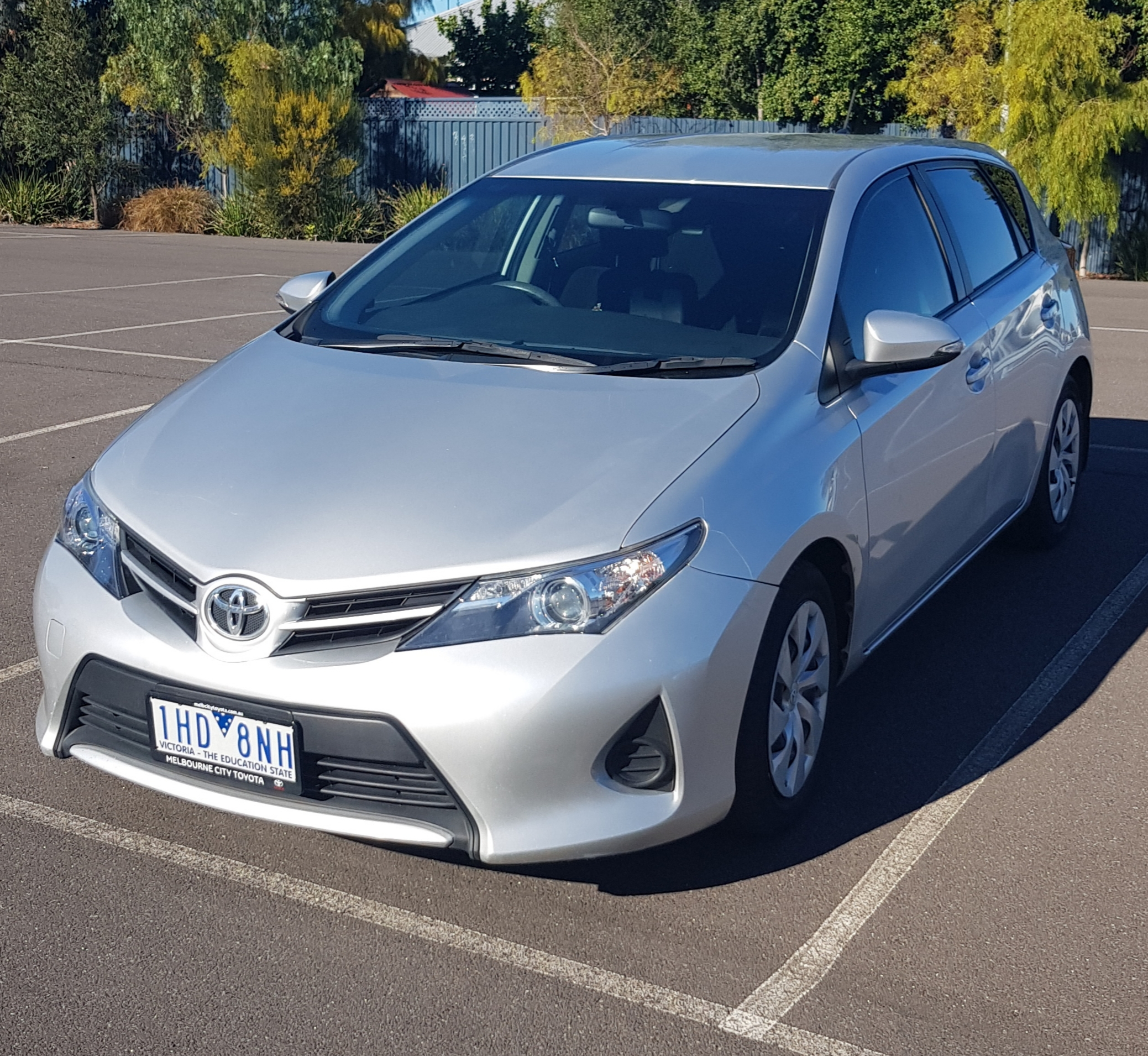 Picture of Stephanie's 2014 Toyota Corolla