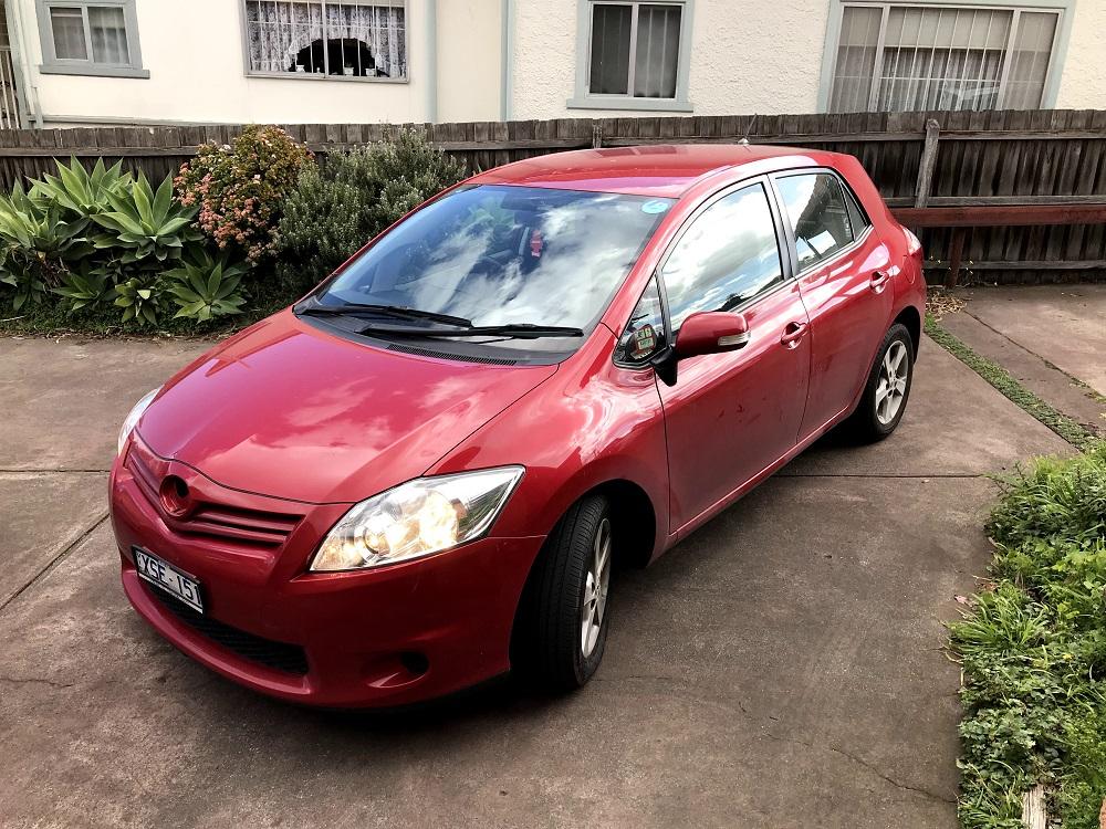 Picture of Amanda's 2010 Toyota Corolla