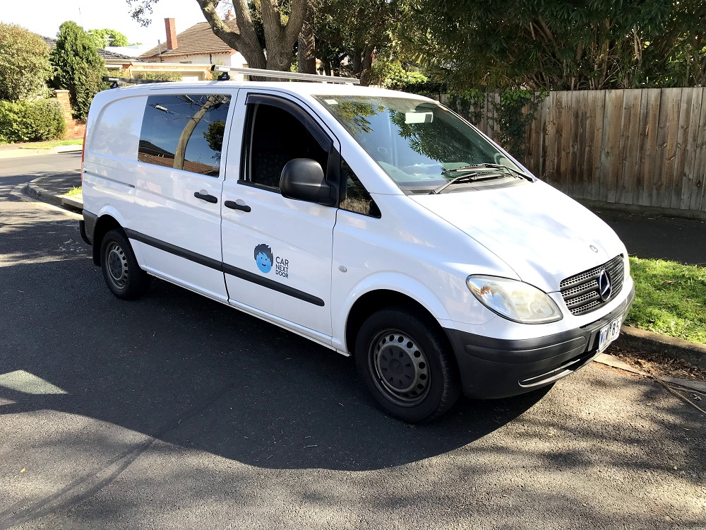 Picture of Collette's 2005 Mercedes Vito
