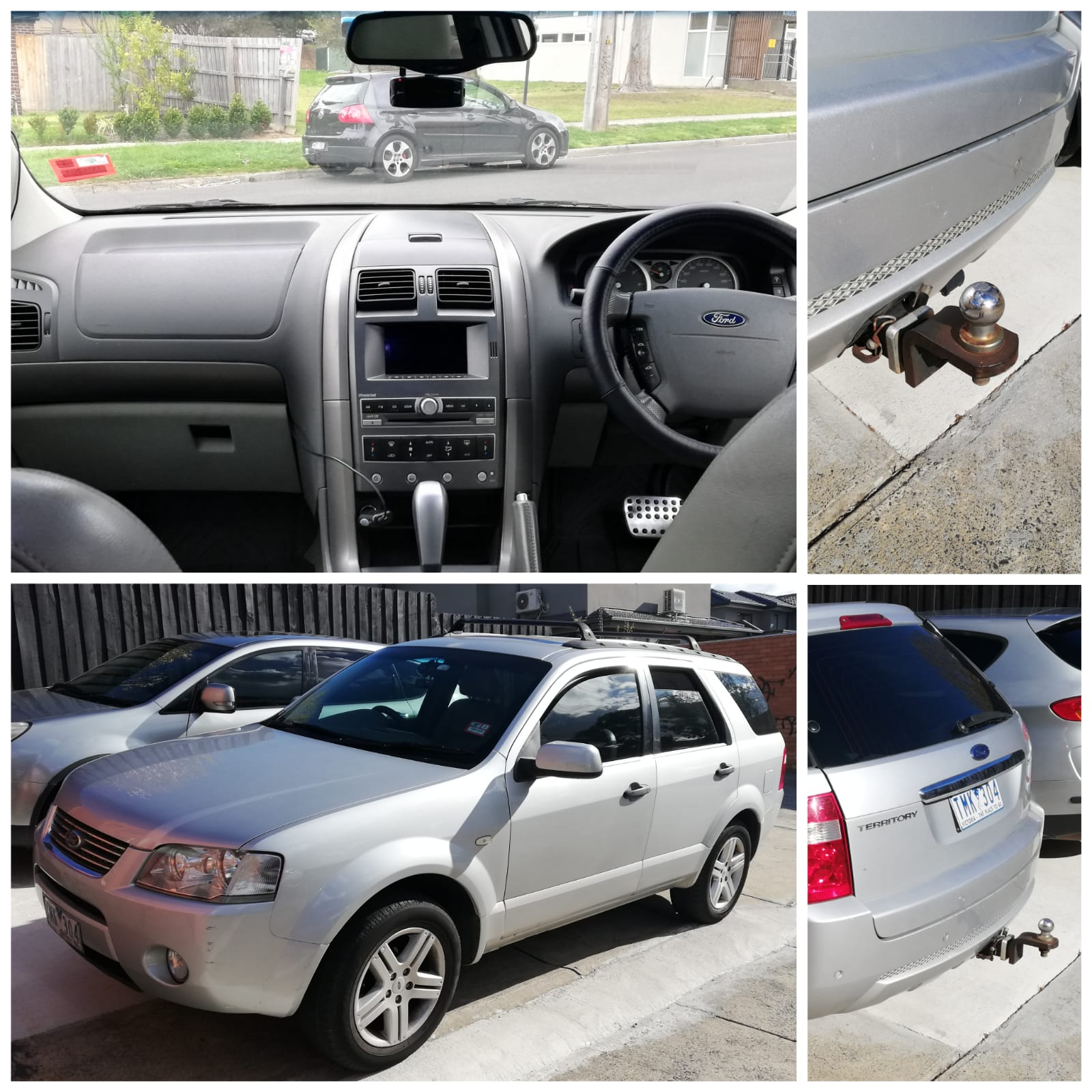 Picture of Man's 2005 Ford Territory