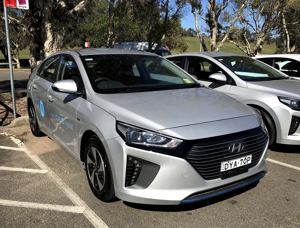 Picture of Kelsie's 2018 Hyundai iONIQ