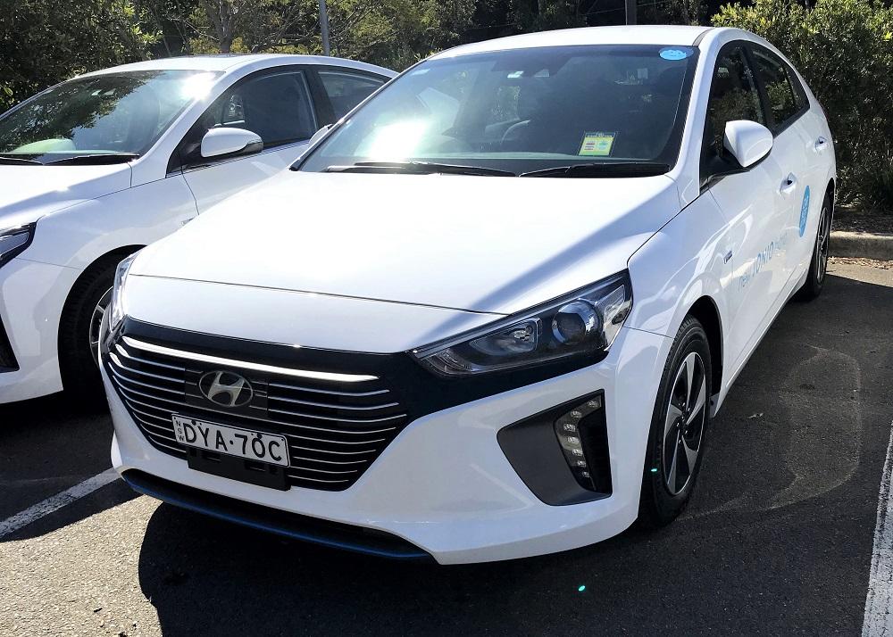 Picture of Derek's 2018 Hyundai iONIQ