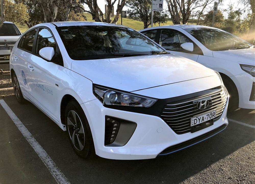 Picture of Hyundai's 2018 Hyundai iONIQ