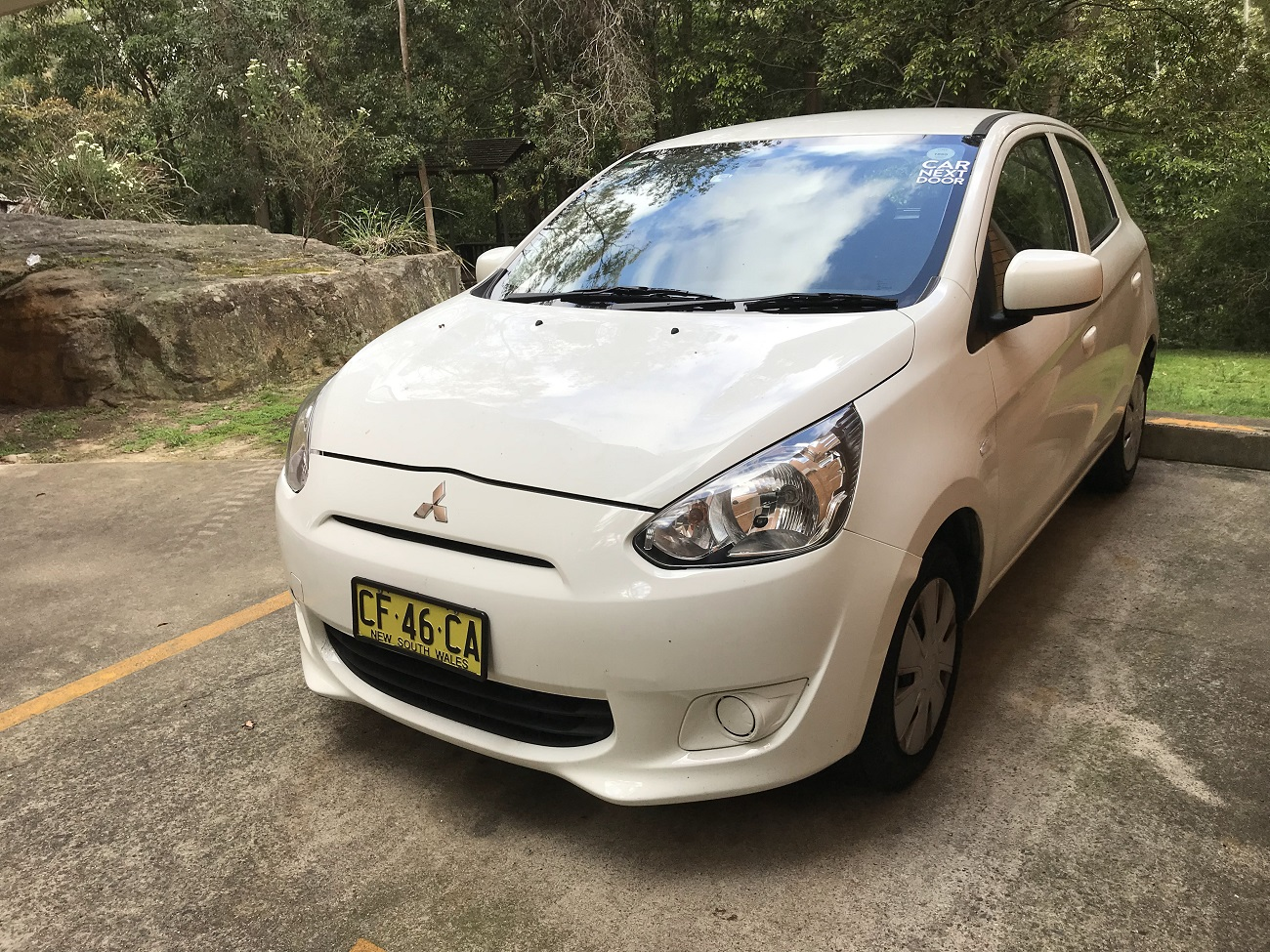 Picture of Alfred's 2015 Mitsubishi Mirage