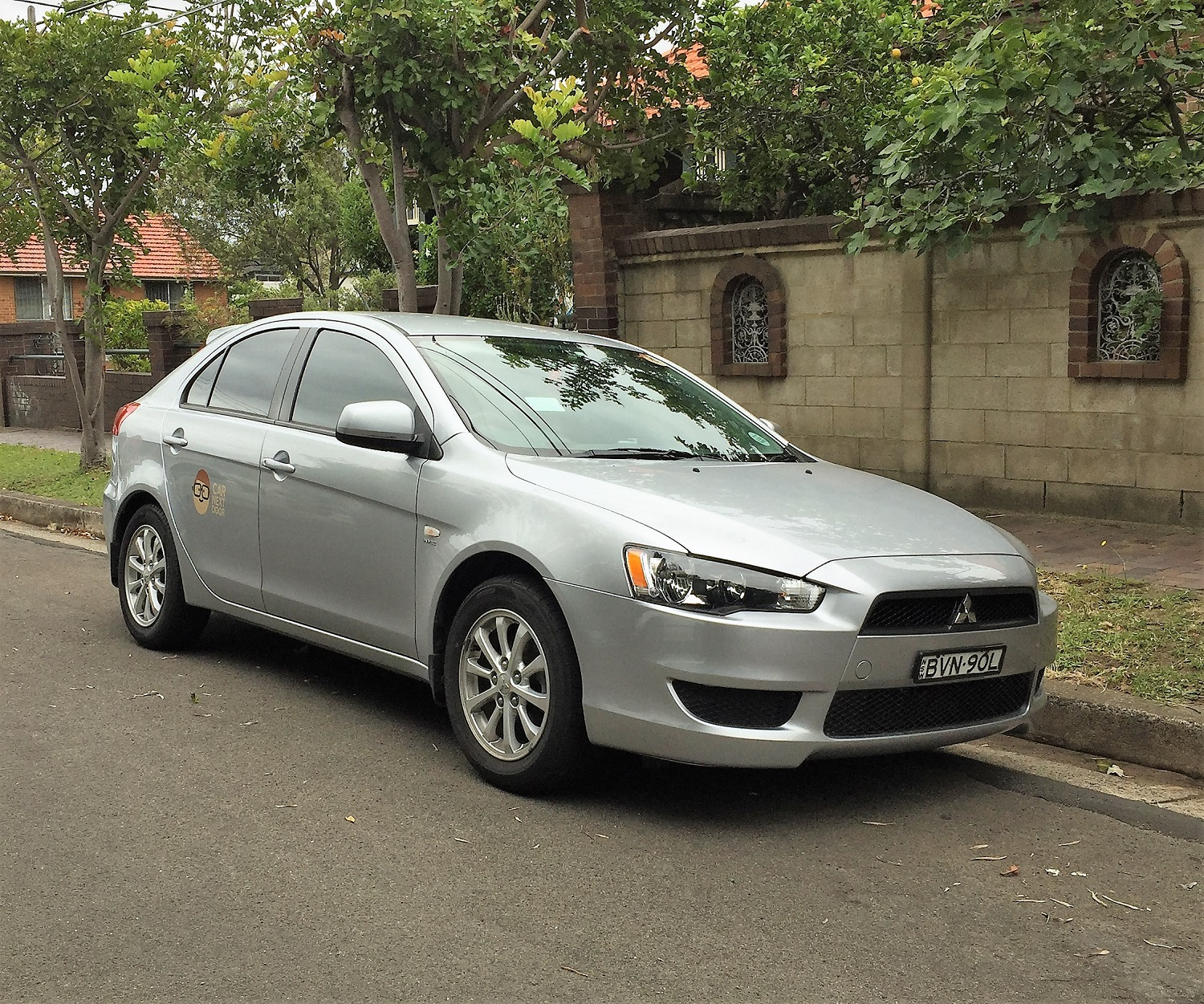 Picture of Paul's 2011 Mitsubishi Lancer