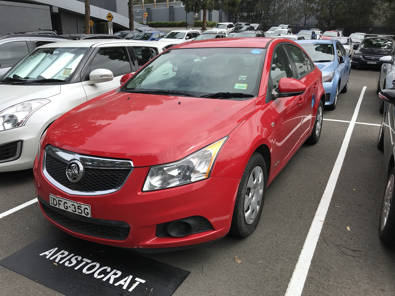 Picture of Di's 2011 Holden Cruze