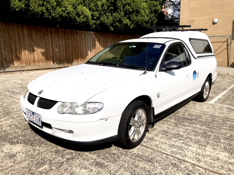 Picture of Luke's 2002 Holden VU