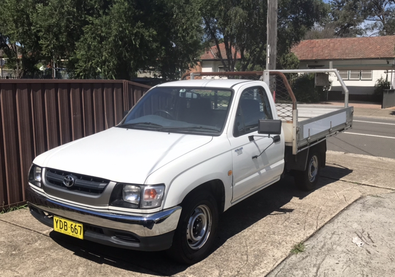 Picture of Tristan's 2002 Toyota Hilux