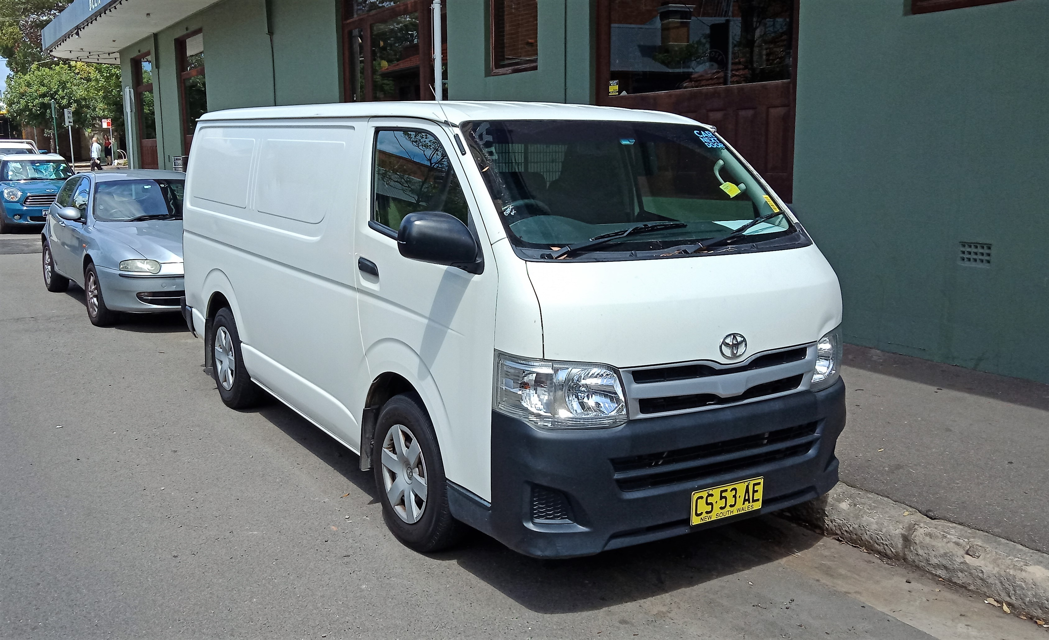Picture of Jacob's 2013 Toyota Hiace